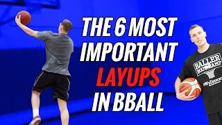🏀Basketball Layup SECRETS: 6 ways to shoot a layup in basketball