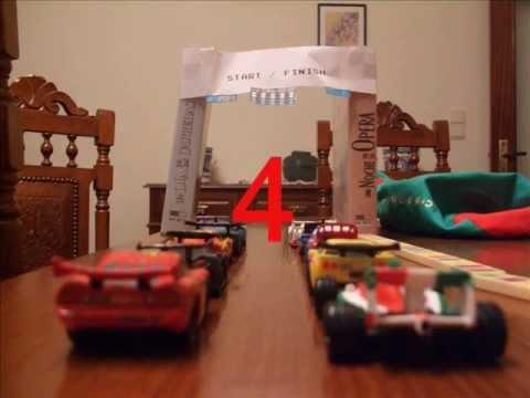 My Cars 2 World Grand Prix Stop Motion Race - YouTube
