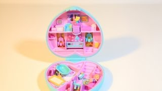 Polly Pocket Baby Time Fun Nursery Compact Mattel Toys Bluebird Play Set 90s Collection