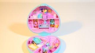 Polly Pocket Baby Time Fun Nursery Compact Mattel Toys Bluebird Play Set 90s Collection