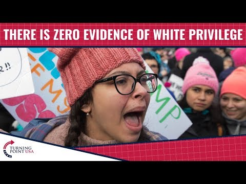 There Is Zero Evidence Of White Privilege In America