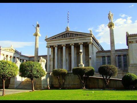 Athens Panepistimiou street - 28 October 2015