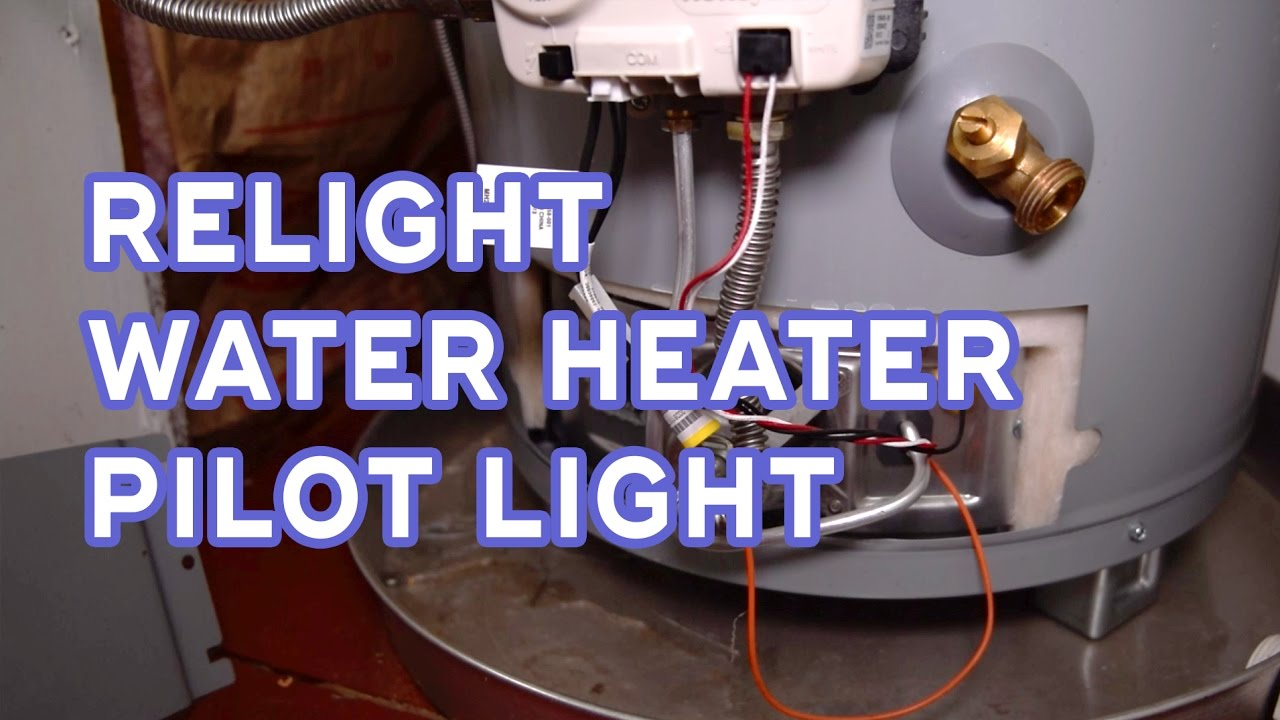How To Relight Water Heater Pilot Light   No Hot Water   Quick Home Fix    YouTube