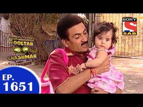 Taarak Mehta Ka Ooltah Chashmah -  तारक मेहता - Episode 1651 - 15th April 2015 thumbnail