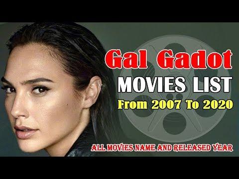GalGadot | Movies List | Wonder Woman Complete Filmography