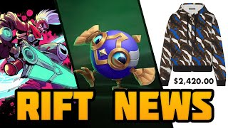 Rift News: NEW Indie Game, Mecha Skins & Louis Vuitton Collection