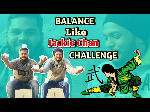 Kung Fu Training Challenge | LIKE Jackie Chan | Water Cup Balance | Stop Motion Game Trailer