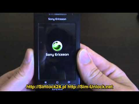 unlocking Xperia X8 E15i by http://sim-unlock.net