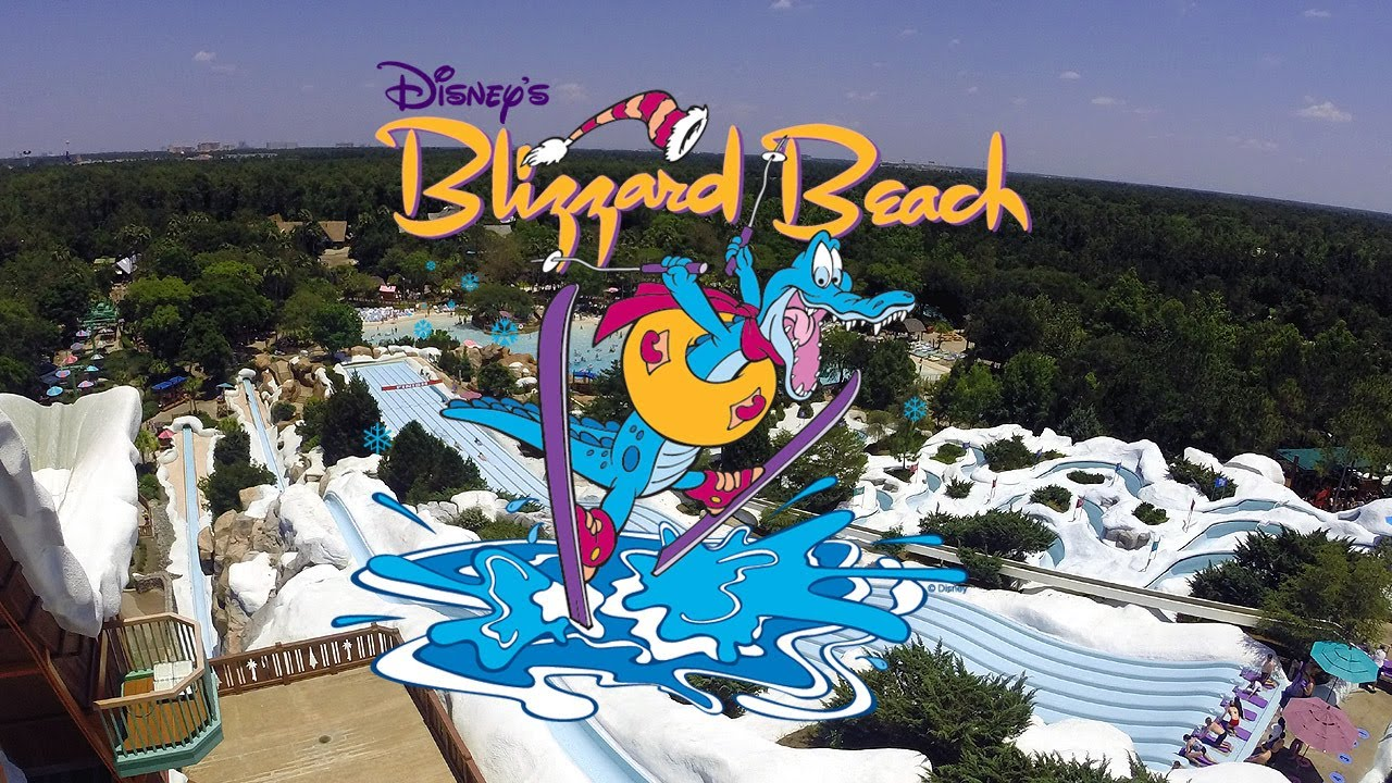 Video Clip Disney S Blizzard Beach Hd Parque Acuatico Youtube