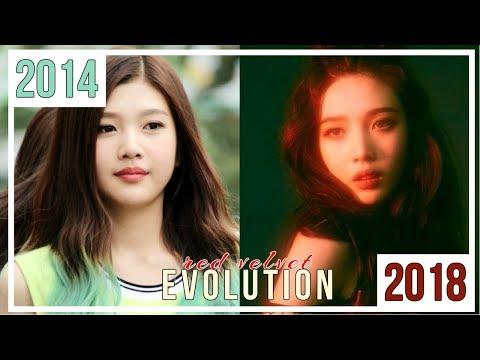RED VELVET EVOLUTION   - 2018