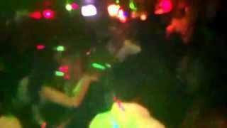 Sonido Proyeccion Olmeca en accion Alamo Bar Niqht Club 3.02.13