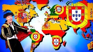 How Spain & Portugal ALMOST Conquered the World