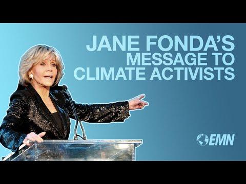 EMA Honors  Jane Fonda Accepts Lifetime Achievement Award
