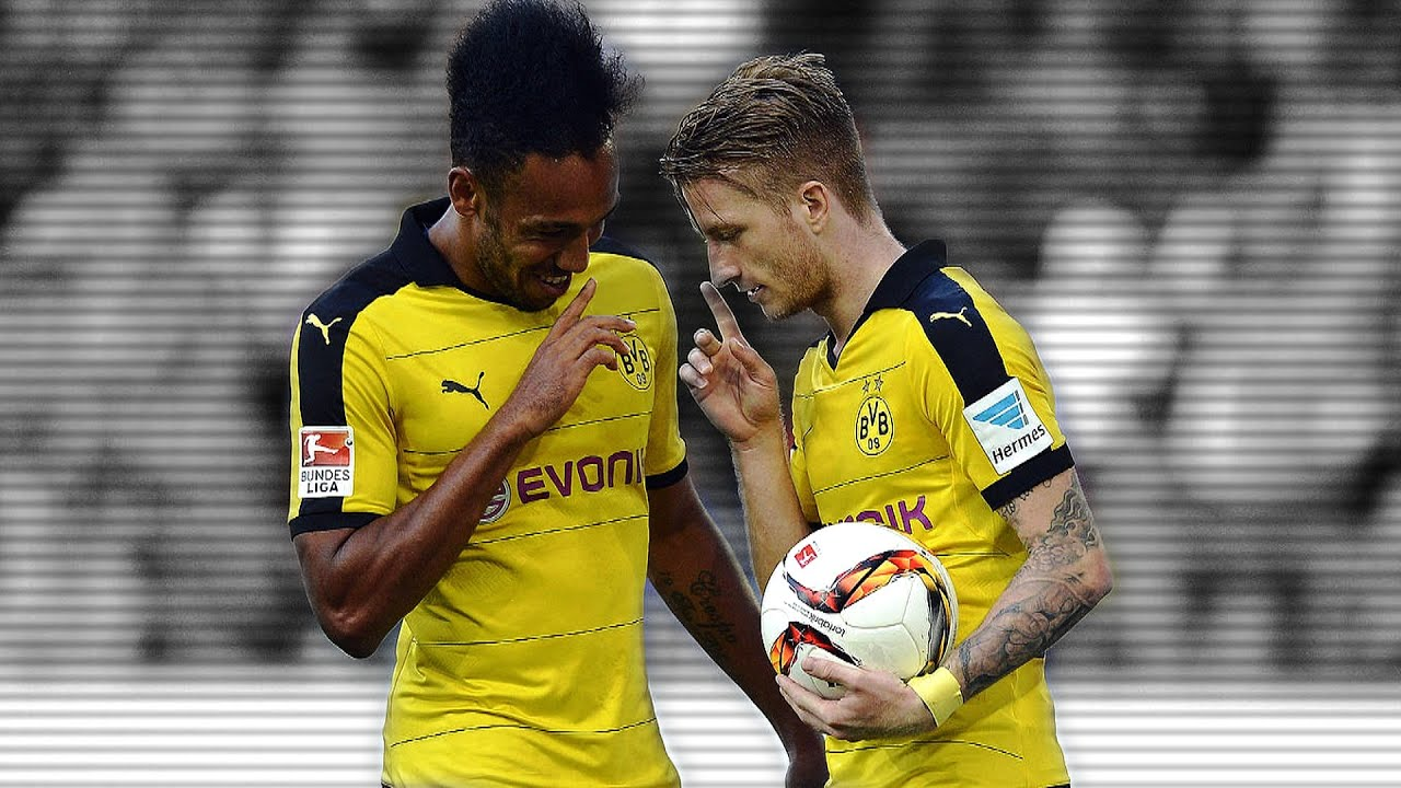 Pierre Emerick Aubameyang & Marco Reus I Best Duo I 2015 2016 HD
