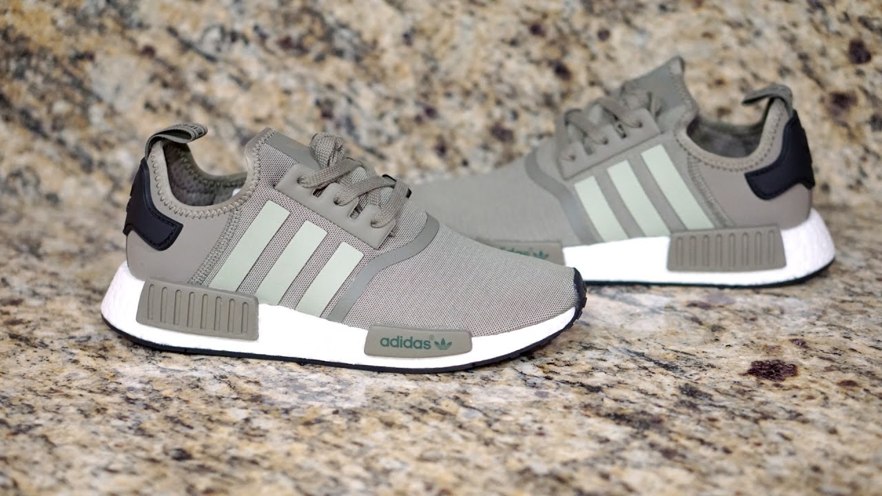 Review  36  Adidas NMD R1 (Trace Cargo) - YouTube 4b5d683c0fd7