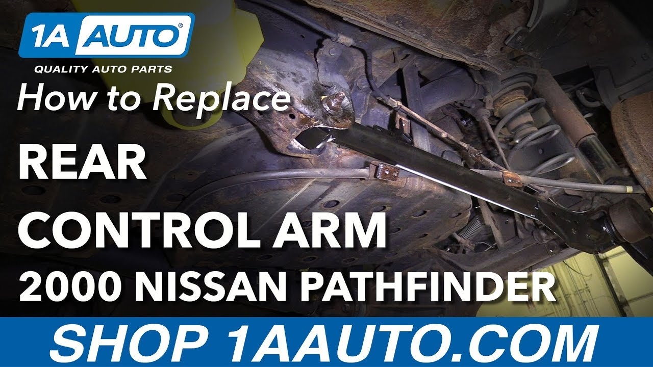 1996 nissan pathfinder rear trailing arms