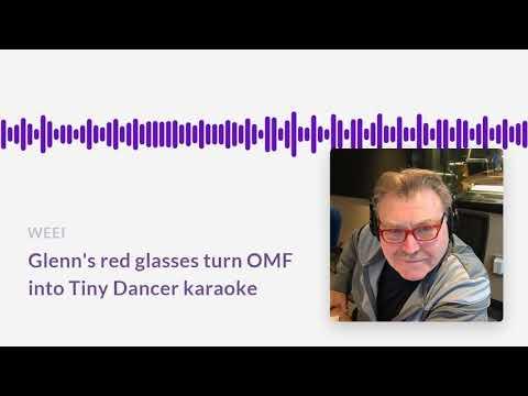 Ordway's red glasses inspire (bad) Elton John karaoke