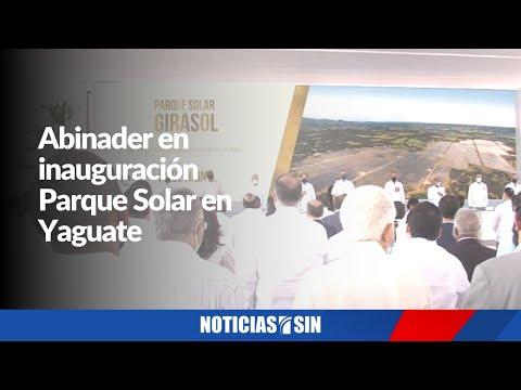 #ENVIVO Abinader en inauguración Parque Solar en Yaguate