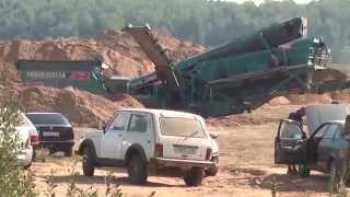 видео Обнинская плотина на Протве