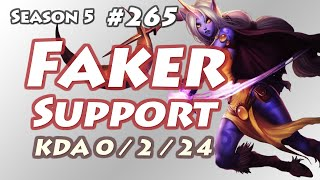 skt t1 faker soraka support with cpt jack sivir kr lol challenger 810lp