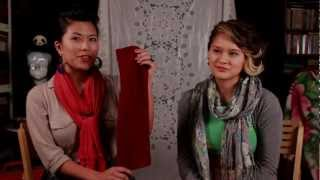 Roxx & Rose Ep1- Fashion Blog Our Favorites- Scarf, Diy Legwarmers, Fitted Skirts, Choker Necklaces