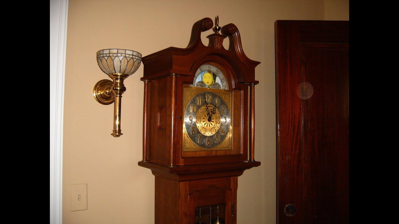 Daneker Grandfather Clock Repair Video with Urgos UW 0322 movement ...