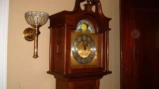 Daneker Grandfather Clock Repair Video With Urgos Uw 0322 Movement Preview