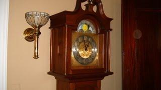 Daneker Grandfather Clock Repair Video With Urgos Uw 0322 Movement Preview