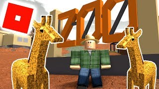 ComKeans Zoologiske Have - Roblox Zoo Tycoon Dansk Ep 1