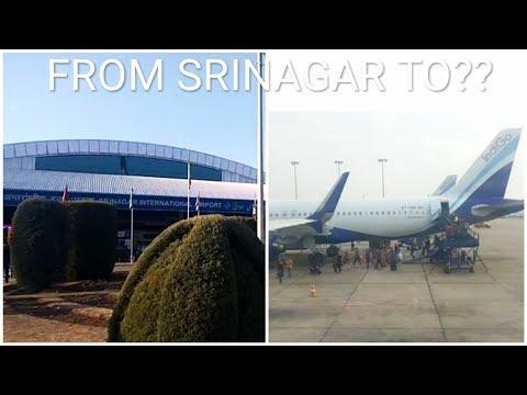 From Srinagar through Delhi to Guwahati by Flight || Sarowar Alom||