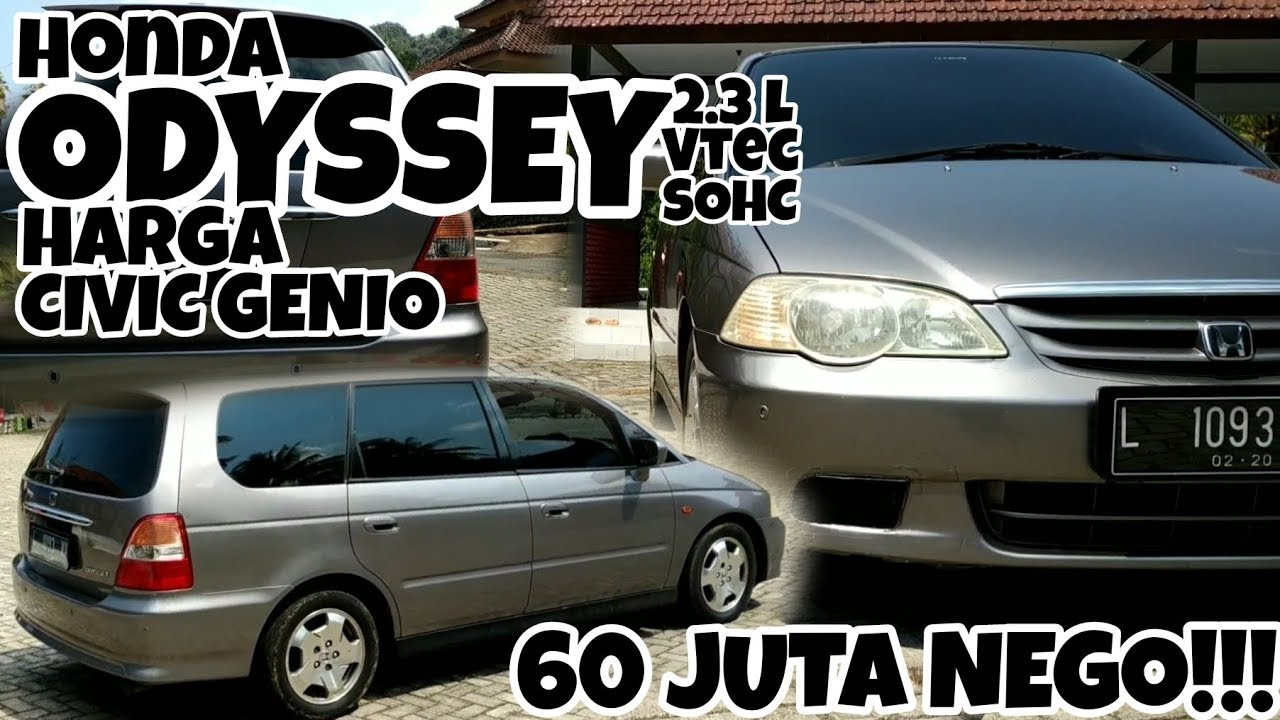 Kelebihan Harga Honda Odyssey Bekas Murah Berkualitas