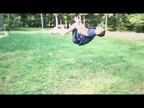 How To Overcome The Fear Of A Backflip On Ground