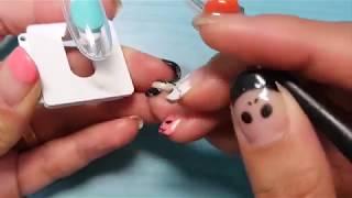 Модная техника дизайна ногтей -