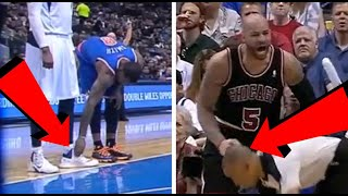18 Times NBA Players Were Caught Doing the ODDEST Things During a Game