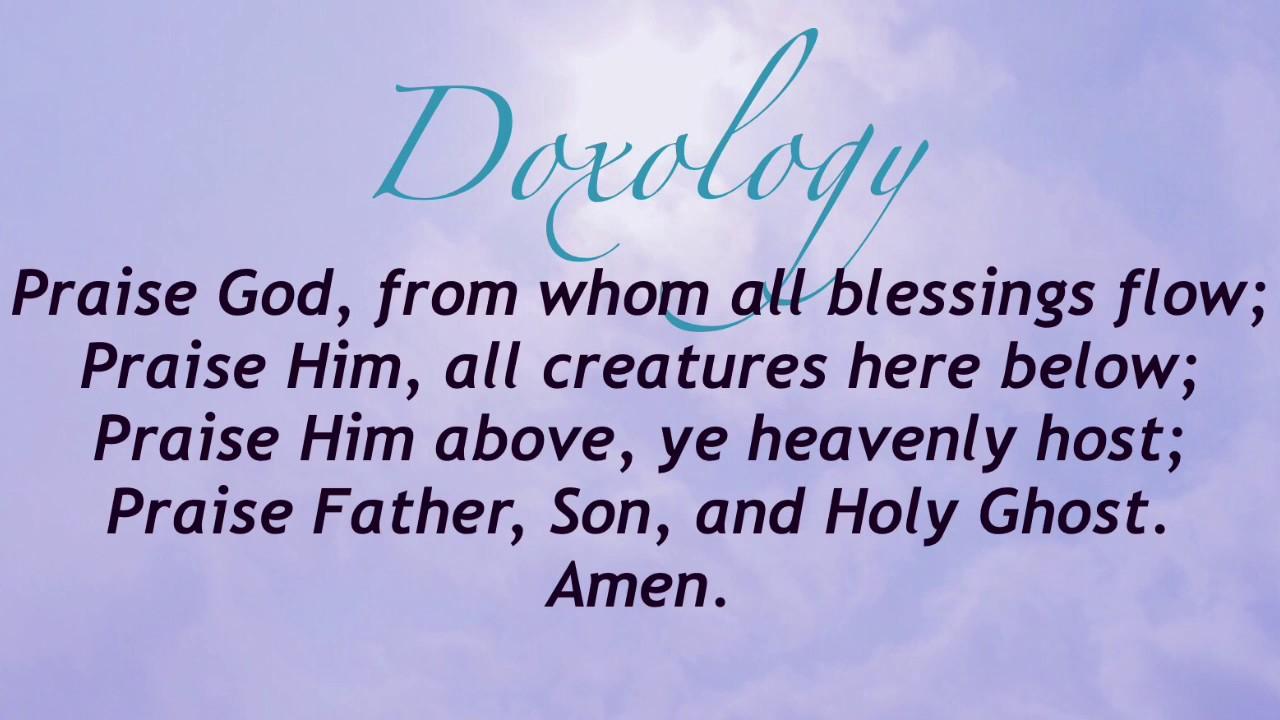 Doxology (Presbyterian Hymnal #625)