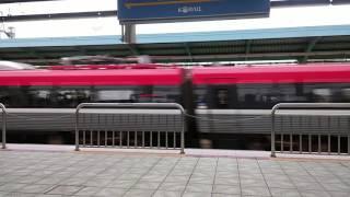 韓国鉄道公社 ITX(アイティエックス)-セマウル号 ソンギュングァン大学駅 通過