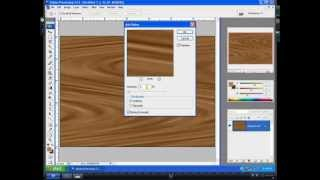 Creation Of Wooden Pattern Effect In Adobe Photoshop