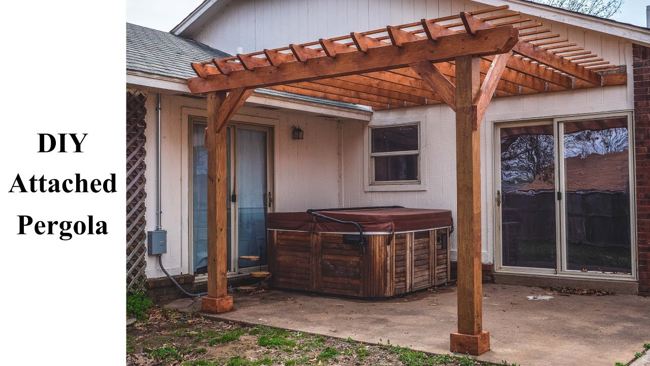 Diy Attached Pergola Build It Better Ep 02 You