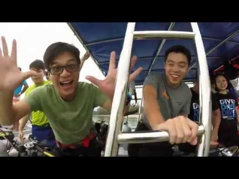 Learn To Scuba Dive Singapore | Discover Tasu Island Malaysia
