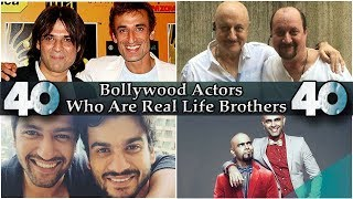 Bollywood Actor Brother Pairs - 40 Bollywood Actors Who Are Real Life Brothers.
