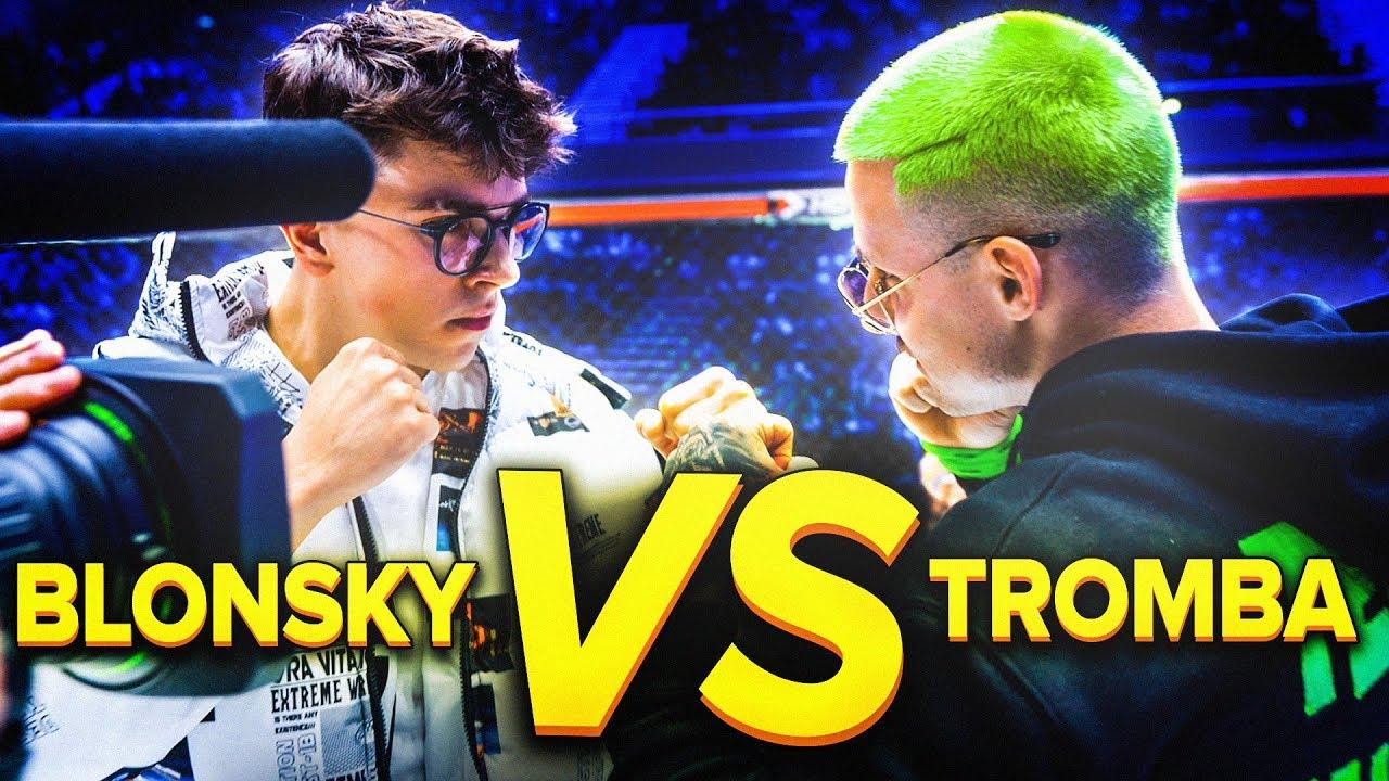 ZAWALCZĘ Z TROMBĄ NA FAME MMA 6 - YouTube