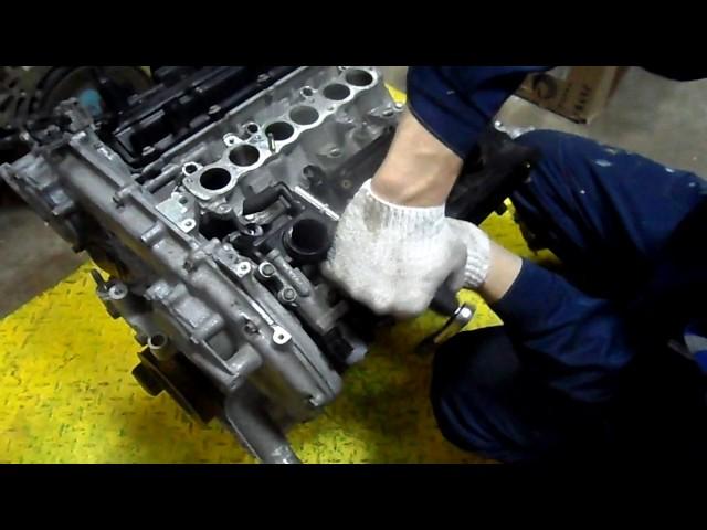Фото к видео: Двигатель VQ23DE