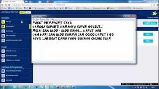 Cara Registrasi Paket Internet XL Super Ngebut 11gb