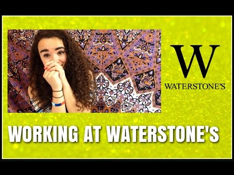WORKING AT WATERSTONE'S! | My Experience