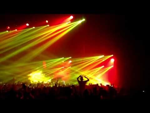 Alesso City of dreams, Calling (lose my mind) congress theater 4-12-13