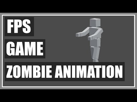 Animating A Zombie Human Enemy Model - FPS Game In Unity - Part 54 thumbnail