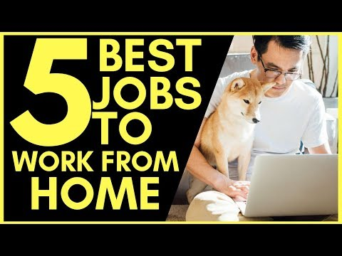 5 Best Work From Home Jobs (High Paying)