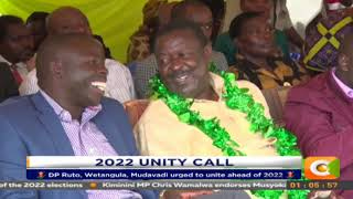 DP Ruto, Wetangula, Mudavadi urged to unite ahead of 2022.