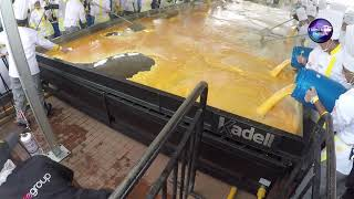 World Guinness Record Largest scrambled eggs. colombia