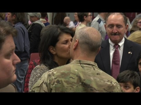 Nikki Haley's husband Michael deploys with SC Guard